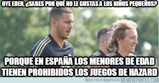 1083155 - Eden Hazard ya se está acostumbrando un poco a España