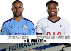 Enlace a Tottenham tiene a Kyle Walker barato