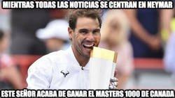 Enlace a La noticia importante de hoy tendría que ser Rafa Nadal ganando el Masters 1000 de Canada