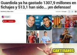 Enlace a ¡Guardiola ya ha gastado 1307,9 millones en fichajes!