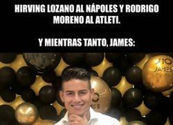 Enlace a ¿Qué pasa con James?
