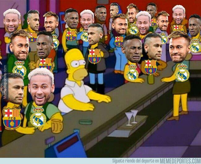 1083344 - La prensa deportiva los últimos días con el fichaje de Neymar por el Barça o Real Madrid