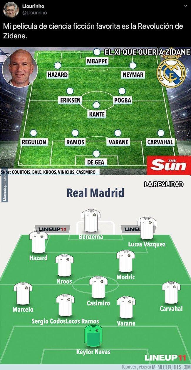 1083345 - Gran enfado en el madridismo por el XI que iba a ser en el Real Madrid y lo que tienen en realidad