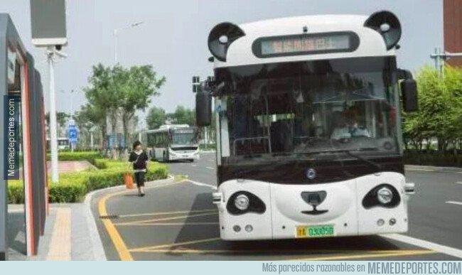 1083435 - Madre mía cómo vienen los autobuses por Sevilla hoy