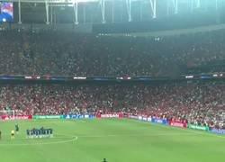 Enlace a Surrealista: Adrián San Miguel podría haberse lesionado el tobillo en la celebración del Liverpool justo en este momento
