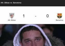 Enlace a Messi, Suárez y esto... mal inicio para los culés
