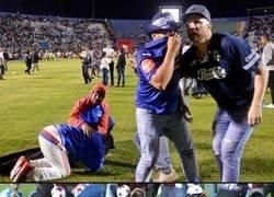 Enlace a No aprendemos. Un partido de fútbol en Honduras termina con 4 muertos y 8 heridos