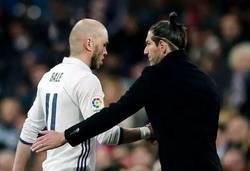 Enlace a Zidane y Bale se han reconciliado por completo