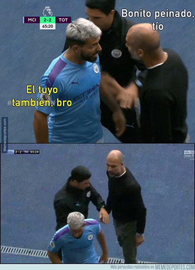 1083770 - Lo que pasó entre Agüero y Guardiola