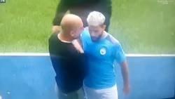 Enlace a Agüero y Guardiola no se estuvieron de nada