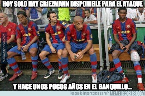 1083861 - Si el Barça de hoy pudiera echar mano de este banquillo...