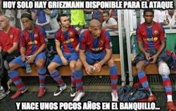 Enlace a Si el Barça de hoy pudiera echar mano de este banquillo...