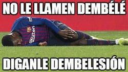 Enlace a No le llamen Dembélé