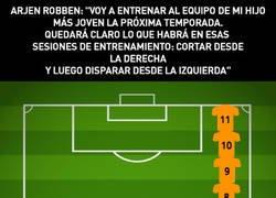 Enlace a Se viene el Robben entrenador