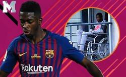 Enlace a Los mejores momentos de Dembélé desde que fichó por el Barça y que lo han convertido en un fichaje muy polémico