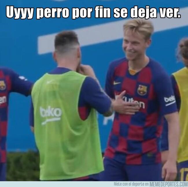 1084023 - Alguien que me sonría como De Jong sonríe al ver a Messi