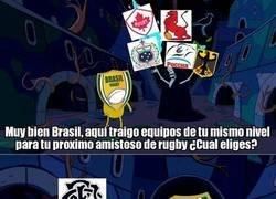 Enlace a El optimismo de los rugbiers brasileños es envidiable