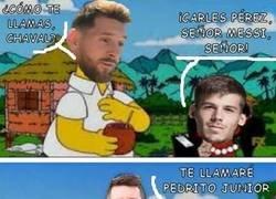 Enlace a Buen gol de Carles Pérez
