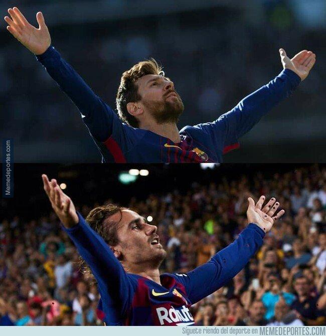 1084239 - Le ha venido bien sentarse en la misma mesa que Messi