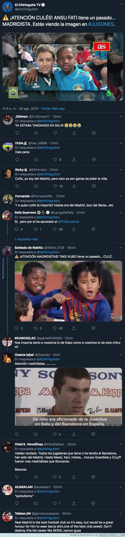 1084279 - Lío máximo en redes: sale a la luz una foto de Ansu Fati, nuevo ídolo culé con la camiseta del Real Madrid