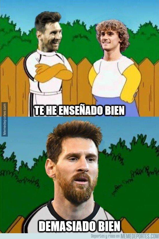 1084280 - Messi es el maestro favorito de Griezmann