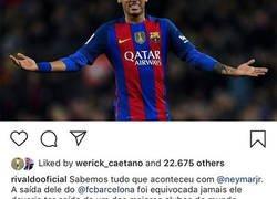 Enlace a El padre de Neymar acaba de darle 'me gusta' a esta publicación de Instagram y acaba de revolucionar todo internet