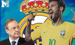 Enlace a La excusa que se ha inventado el Pedrerol para justificar la tercera vez que Neymar rechaza al Real Madrid