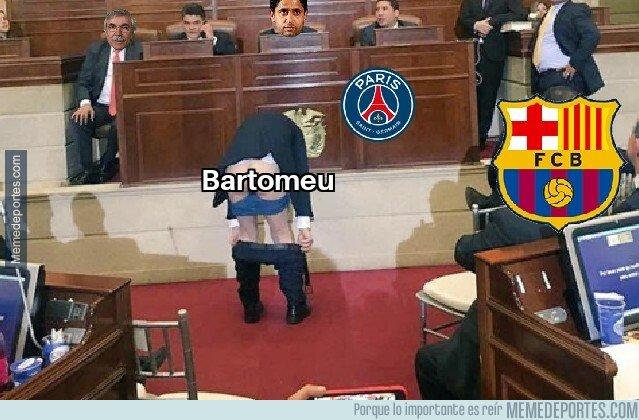 1084360 - Imágenes exclusivas de la negociación de hoy del Barça con el PSG por Neymar