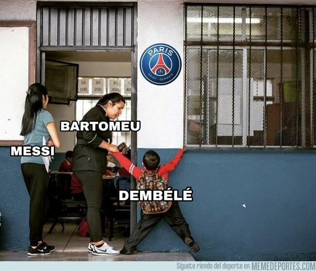 1084388 - La situación es así en el Barça