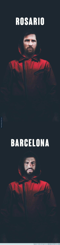 1084394 - La Casa de Papel empieza a hacer furor en Barcelona con la posible llegada de Neymar