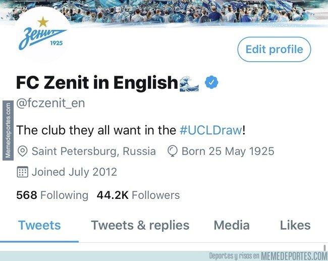 1084446 - El Zenit ya está preparado para el Sorteo de Champions