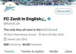 Enlace a El Zenit ya está preparado para el Sorteo de Champions
