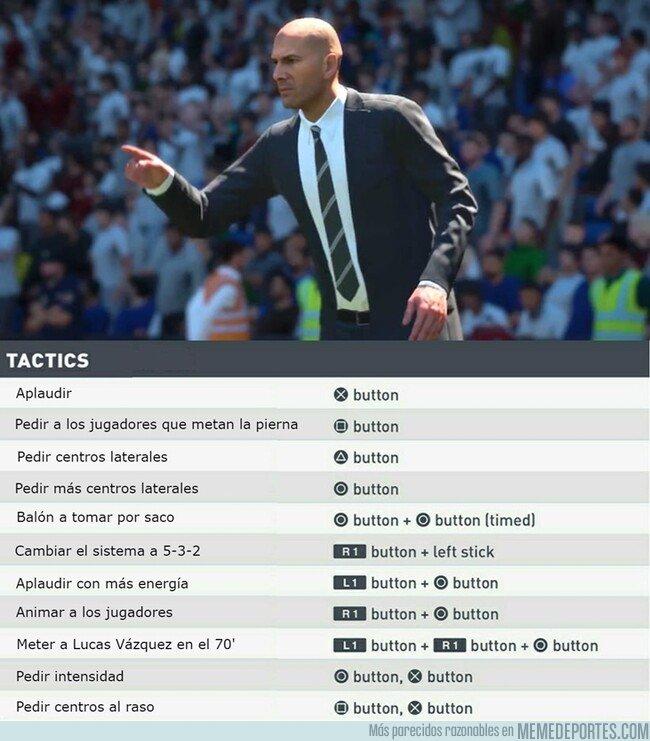 1084477 - Como controlar a Zidane en el nuevo FIFA