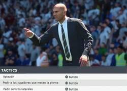 Enlace a Como controlar a Zidane en el nuevo FIFA