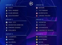 Enlace a Así han quedado los grupos de la Champions