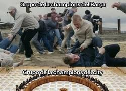 Enlace a Los Grupos de la Champions