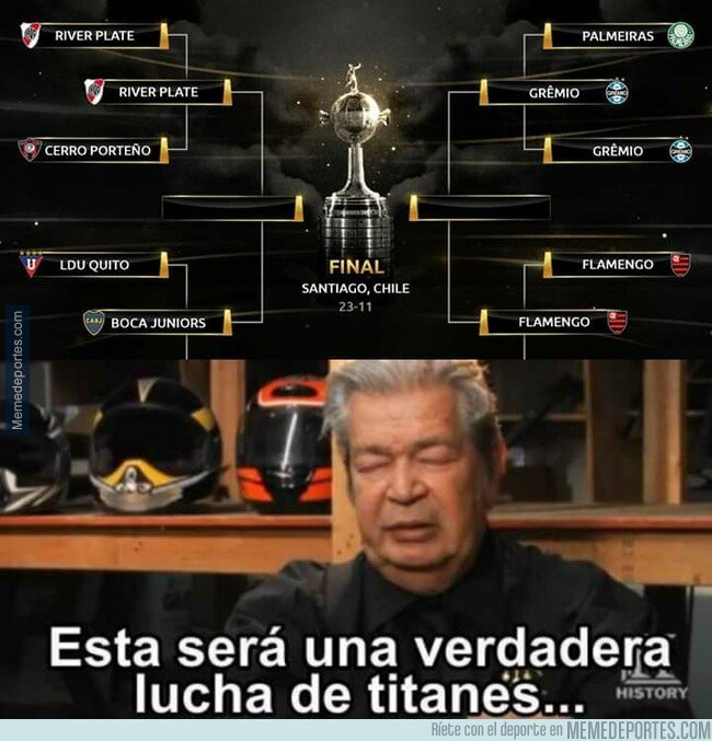 1084519 - Pintan interesantes las semifinales de Libertadores