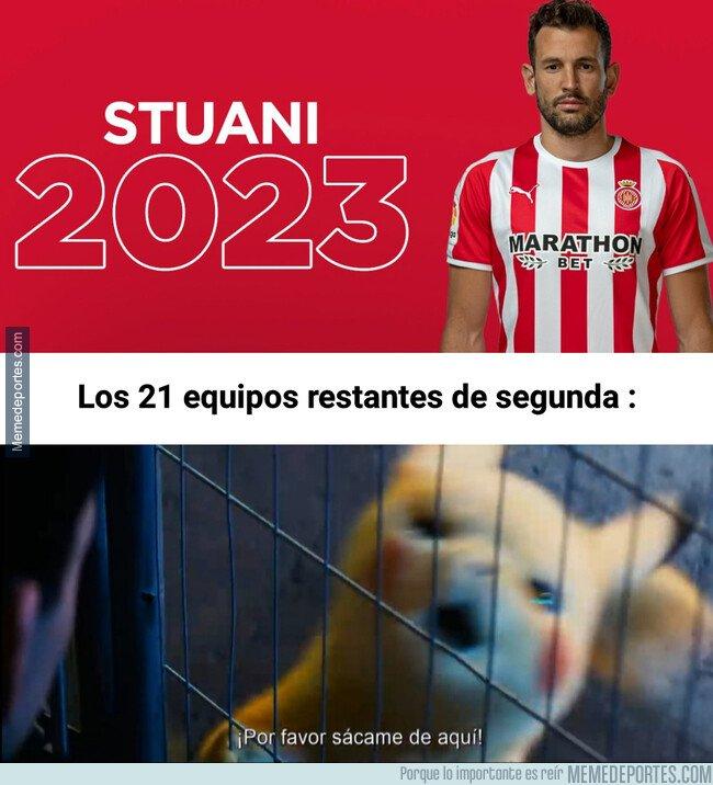1084533 - Stuani se queda en el Girona