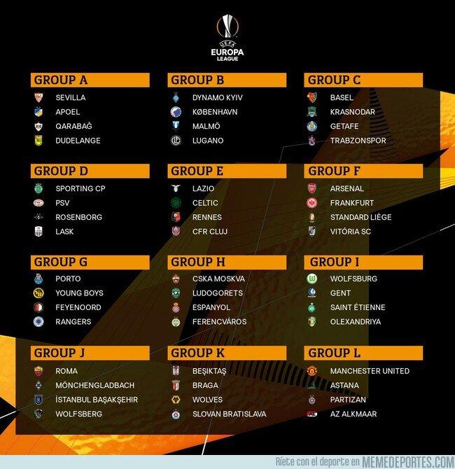 1084551 - Así quedan los grupos de la Europa League