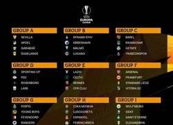 Enlace a Así quedan los grupos de la Europa League