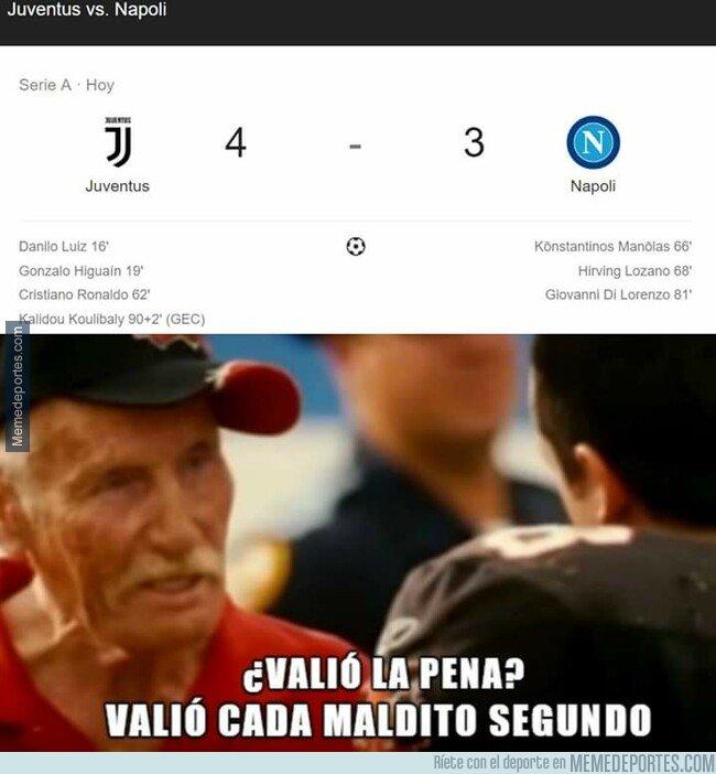 1084642 - ¿Valió la pena ver completo el Juve - Napoli?