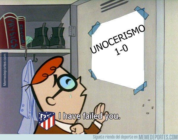 1084688 - Cuando el Atlético ya no puede quedar 1-0