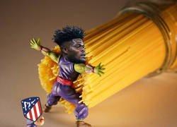 Enlace a Thomas ya es un salvador habitual del Atlético