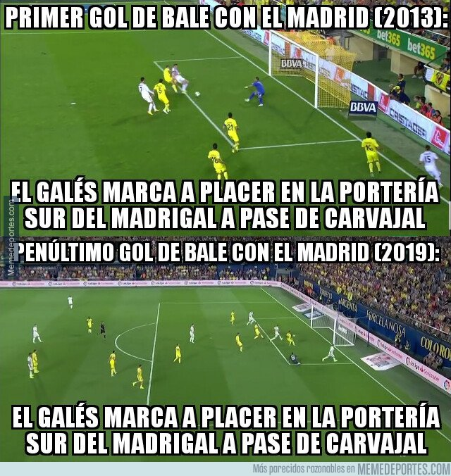 1084724 - Bale calcó su primer gol de blanco