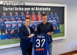 Enlace a La razón por la que Skrtel renunció al Atalanta un mes despues de haber fichado por el equipo
