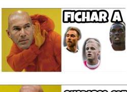 Enlace a El Real Madrid en el mercado fichajes
