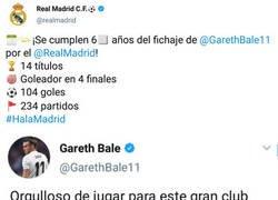 Enlace a Bale y Real Madrid ahora se quieren como si nada hubiese pasado este verano