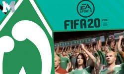 Enlace a Enseñan a la afición del Werder Bremen en el 'FIFA 20' y el club se enfada por este detalle que muestran las imágenes