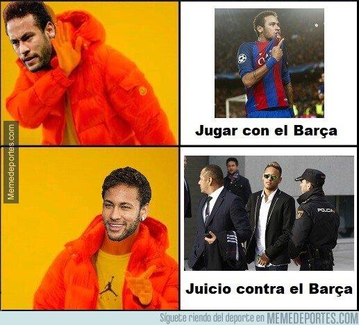 1084904 - No es este el regreso a Barcelona de Neymar que esperaban los culés...