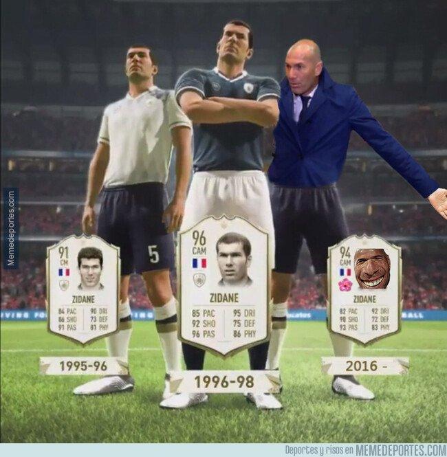 1084918 - EA sports reveló las 3 versiones de Zidane para el FIFA 20